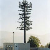 Cost-Effective Telecommunication Camouflaged Palm Tree Antenna Pole Tower