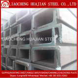 Hot Rolled Manufacturing Steels U Channel Iron for Architecture