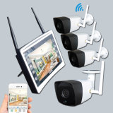 4CH 720p Wireless NVR Kit IR Night Vision WiFi HD Home Video Security Camera System LCD