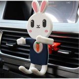 Sy02-01-005 Cartoon Rabbit Shape Silicone Handset Holder for Cellphone