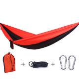 Outdoor Parachute Nylon Hammock with Rope