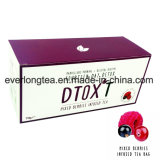 Customized Brand Dtox′t 14 Day Weight Loss Detox Tea Mixed Berries Infusion