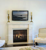 Fp020 Natural Stone Marble Fireplace Surround Simple Design Fire Place