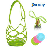Silicone Reusable Wine Bottle Holder Travel Bag Pot Holder