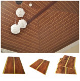 China Wholesale Pop Design Color Wave Wall Panel Decorative Board Tiles/Tablilla Techos Cielo Raso PVC and Plastic T & J Strips Roof False PVC Spandrel Ceiling