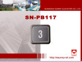 Square Pushbutton for Elevator (SN-PB117)