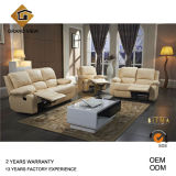 White Leather Recliner Living Room Sofa (GV-RS898)