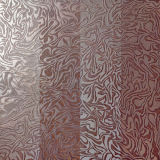 Metal Glazed Red Porcelain Interior Floor Tile