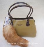 2014 New Fur Fashion Bag Pendant Fox Tail Fur Pendant