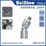 "1/4""Drive Universal Joint Adapter with Chrome Plated for Hand Tool"