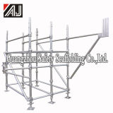 Q235 Galvanized Steel Cuplock Scaffolding System for Large Building Construction