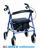 Deluxe Aluminum Foldable Rollator (SC-RL04 (A))