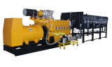 60Hz 1000kw Biogas Generator Set with Horizontal Radiator