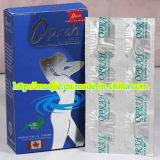 2015 Hot Sale 100% Herbal Slimming Capsule Weight Loss Products (MJ-350mg X 6pills X 5PCS)