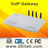 4-Ports VoIP Gateway with 4 SIM Card Ports GoIP4