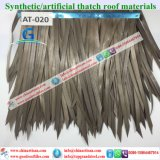 At020 Artificial Thatch Synthetic Thatch Plastic Palm Thatch Roofing Factory