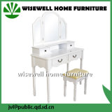 Wood French Style Mirrored Furniture (W-HY-015)