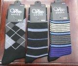 Fashion Cheap Polyester Long Dress Socks for Men Wear