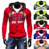 Men′s Wholesale Fleece Print Sweatshirt, Hoody (XY00205)