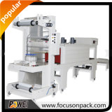 Sleeve Wrapping with Shrink Tunnel Semi Automatic Stretch Wrap Machine