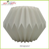 Foldable Paper Lantern Drum-Shaped by Strong Paper Board