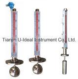 Top-Mounted Bi-Color Magnetic Float Level Indicator (level transmitter is optional)