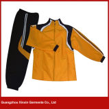 Custom Made Cheap Polyester Tracksuit for Women (T17)