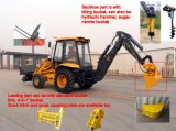 Ce Approved Rhinoceros 7 Ton Backhoe Loader with Spare Parts