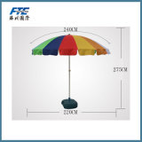 Giant 8′ Rainbow Beach Umbrella
