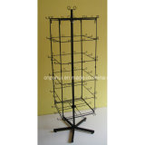 Four Sides Hooks Spinner Rack (PHY215)