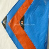 PE Tarpaulin by Sheet with Blue and Orange Color
