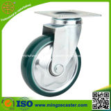 High Quality Swivel Green Clear PU Hand Trolley Wheels