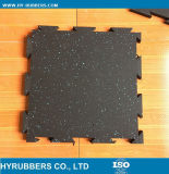 Gym Interlocking Rubber Flooring Tile Mat