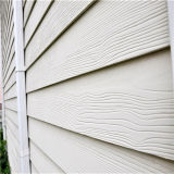 8mm Wood Grain Exterior Siding Panel for Villa