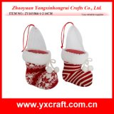 Christmas Decoration (ZY16Y066-1-2 14CM) New Product Christmas Flowerpot