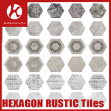 Art Tiles DIY Creative Pattern Tiles Hexagon Marble Tile Stone Tile