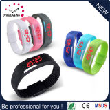 Candy Color Digital Silicone Rubber LED Touch Watch (DC-1121)