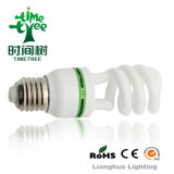 Half Spiral 10mm 20W 3000h Super Compact Energy Saving Lamp CFL (CFLHST43kh)
