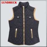 Polyester Leisure Vest Jacket for Women Clothes