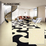 Yellow Crystal Stone Double Loading Polished Porcelain Tile (JD6001)
