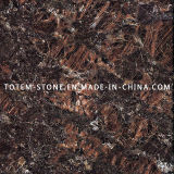 Natural Tan Brown Granite Stone Tile for Countertop, Worktop, Island