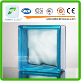 Sapphire Cloudy Glass Block/Glass Brick with Size 190*190*80mm