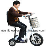 500W 3 Wheels Electric Hub Motor Mobility Scooter for Handicapped