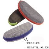2017 OEM/ODM EVA Hard Sunglasses Oxford Glasses Case with Color Zipper From Wenzhou Factory