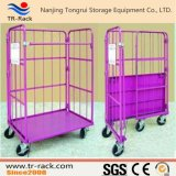 Warehouse Wire Mesh Storage and Logistic Hand Cart/Hand Trolley