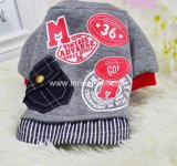 Cool Red&Grey Pet Dog Sports Jersey