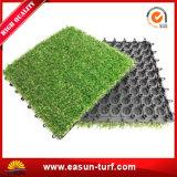 Interlocking Artifcial Grass Tile for Landscaping Garden