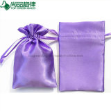 Wholesale Custom Made Drawstring Satin Bag Pouch with Logo Printed