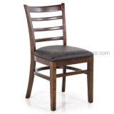 (SP-EC162) High Quality Ladder Back Solid Wood Restaurant Dining Chair