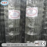39inch Class3 Galvanized Field Fence with Fence Post and Barbed Wire